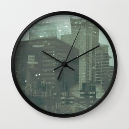 cutting through Wall Clock