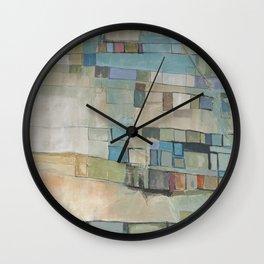 Handwritten Wall Clock