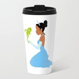 Tiana and the frog Travel Mug