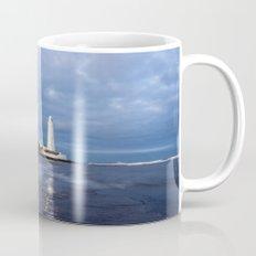 Dusk at St Mary's Lighthouse II Mug