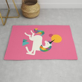 To be a unicorn Rug
