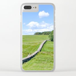 Hadrian's Wall Clear iPhone Case