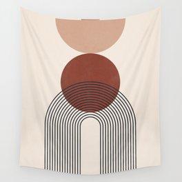 Minimal Geometric Shapes 151 Wall Tapestry