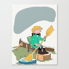 39- Quick & Flupke by Herge Canvas Print
