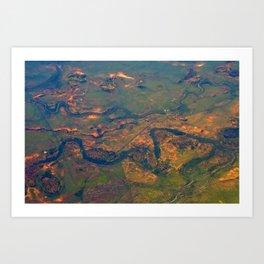 Aerial Art Print