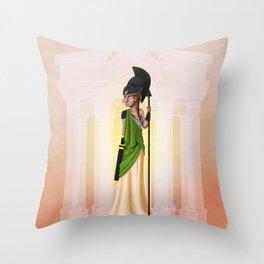 Greek Goddesses - Athena Throw Pillow