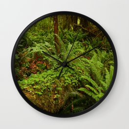 In The Cold Rainforest Wall Clock