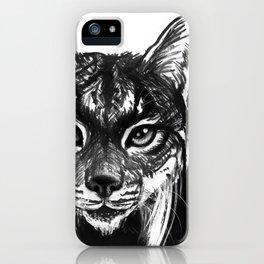 Lynx bobcat iPhone Case