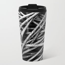 Rebar And Spring - Industrial Abstract Travel Mug