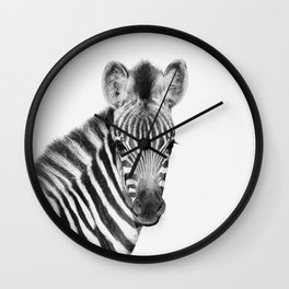 Baby Zebra Wall Clock