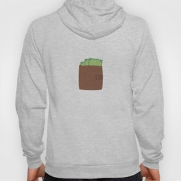 Wallet with money Hoody