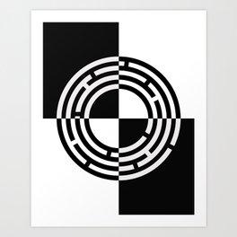 The Maze - Alternate Art Print
