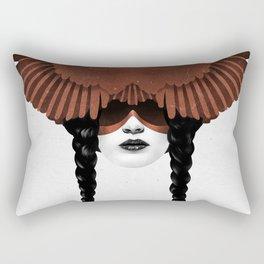 Dark Cardinal Rectangular Pillow