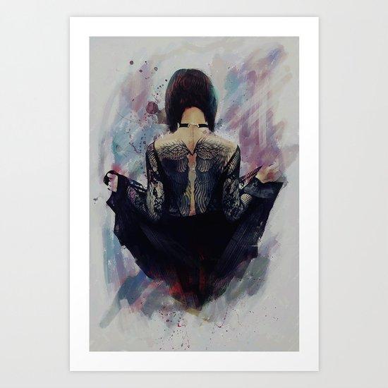 Incite - Dark Angel Art Print