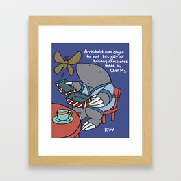 Disappointed Archibald.  Framed Art Print