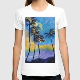 Moon over Palm Trees T-shirt
