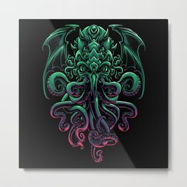 The Call of Cthulhu Metal Print