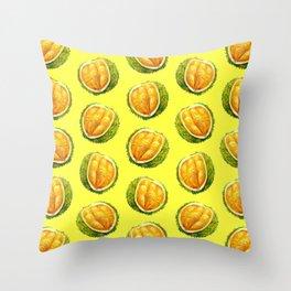 Durian pattern Throw Pillow