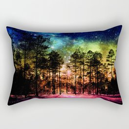 One Magical Night ( Rainbow ) Rectangular Pillow