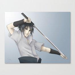 Sasuke Uchiha -- Redemption Canvas Print