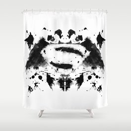 Rorschach Heroes Shower Curtain