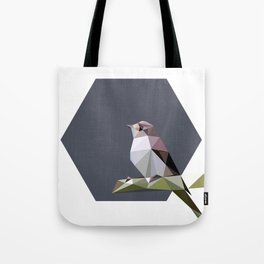 Spotted flycatcher Tote Bag