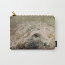 Wheaten Terrier - Let Sleeping Dogs Lie Carry-All Pouch