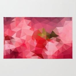 Pink strawberry Rug