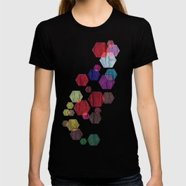 C13 construct hex v2 T-shirt