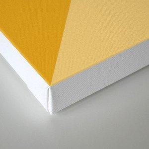 Mustard Tones Canvas Print