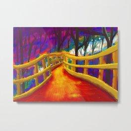pyre bridge Metal Print