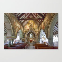 Berwick Church Canvas Print