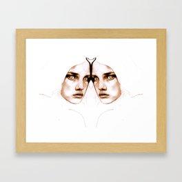 TWIN Framed Art Print