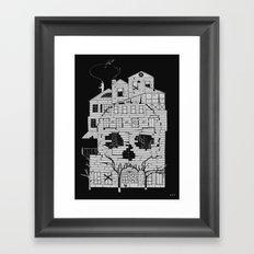 Monsterhouse Framed Art Print