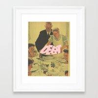 bondage Framed Art Prints featuring Debt Bondage by Robert Cooper