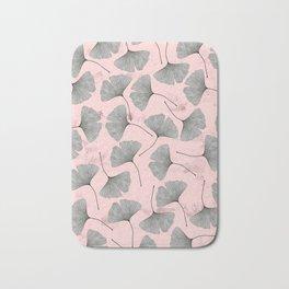 biloba pattern Bath Mat
