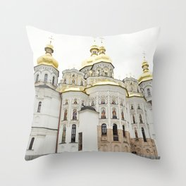 Kiev Church, Ukraine Throw Pillow
