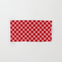 Holly Berry Checkerboard Hand & Bath Towel