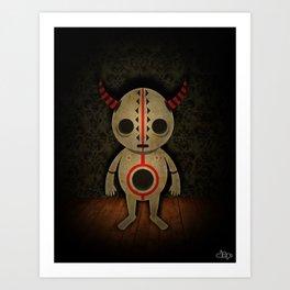 Sad Demon Art Print