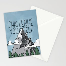 Challenge Yourself Stationery Cards