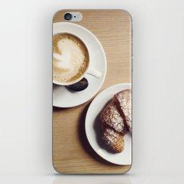 Cappuccino & Brioche iPhone Skin
