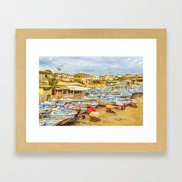 Engabao Beach Guayas Province Ecuador Framed Art Print