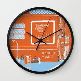 Auto Wall Clock