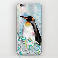 king iPhone & iPod Skins featuring KING by Mat Miller