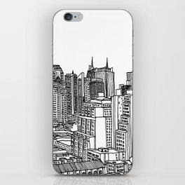 New York View 2 iPhone Skin
