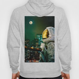 Between The Moon And The City Hoody