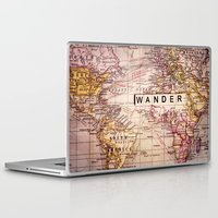 not all who wander are lost Laptop & iPad Skins featuring wander by Sylvia Cook Photography