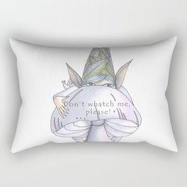 Don't watch me, please! Rectangular Pillow