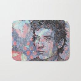 Bob Dylan - Mr. Tambourine Man Bath Mat
