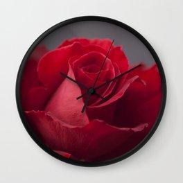 Lokelani loke'ula'ula Wall Clock